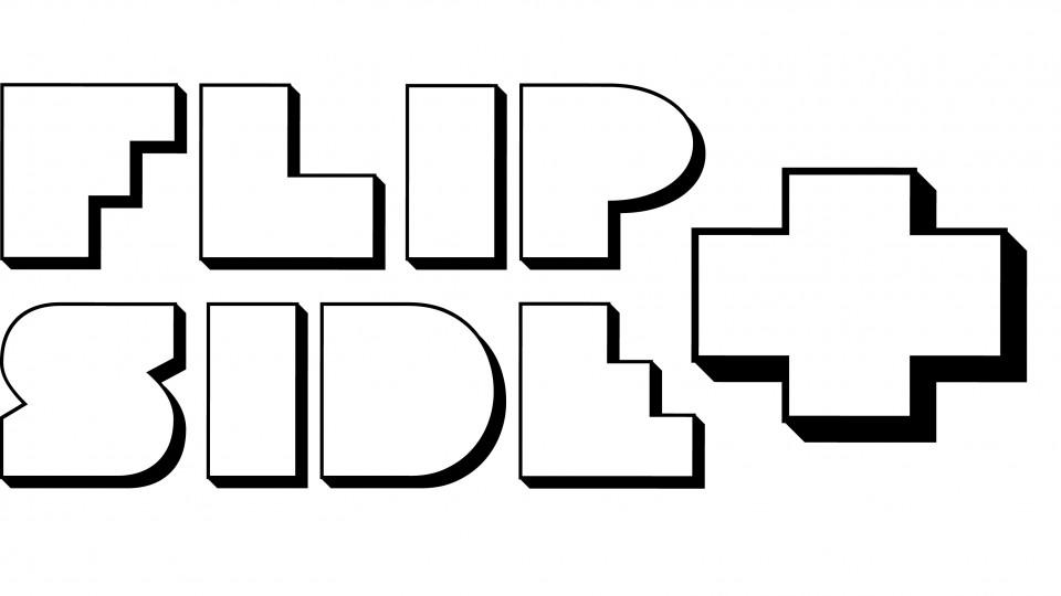 Flip side + logo