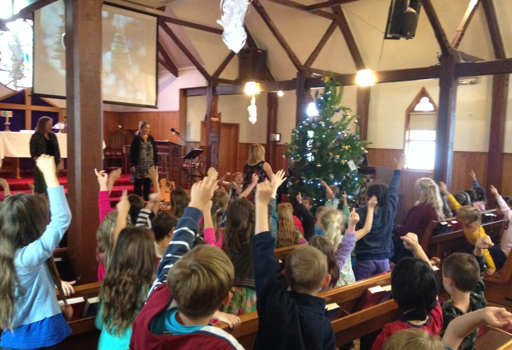 School's Christmas visits to St Luke's